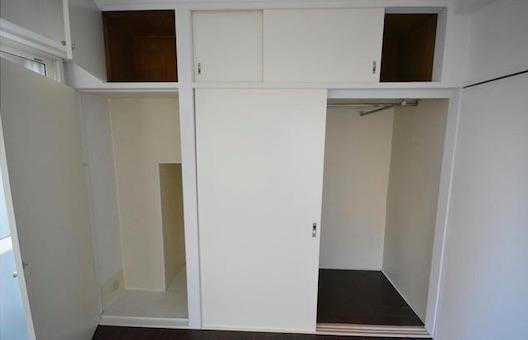 アクアコート麻布十番 寝室の収納